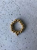 """Ring """"Herz gelbgold"""""""