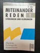 Schulz von Thun, Friedemann: Miteinander Reden 1