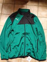 Puma Esquadra Polyester-Trainingsanzug grün/schwarz Gr. XXL - Nr.654383-28/653974-03