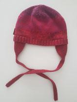 Bonnet tricot rouge dégradé bébé Mexx