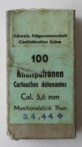 Packung á 100 Stück Markierpatronen für MM-Geräte (Kal. 5,6 mm)