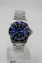 Revue Thommen XL Diver Automatik Blau 42mm 17571.2128