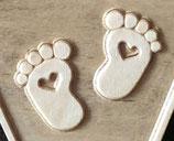 Füße mit Herz