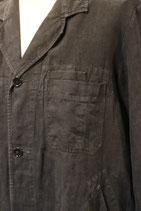 1930~40's FRENCH INDIGO LINEN MAQUIGNON WORK COAT