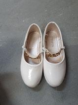 Ballerina cremeweiss Lack Gr. 33