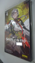 MANGA SERAPH OF THE END VOL 4
