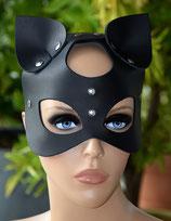 Gesichtsmaske Maske Katzenmaske KITTY