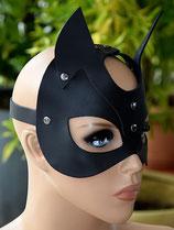 Gesichtsmaske Maske Teufelsmaske BLACK DEVIL