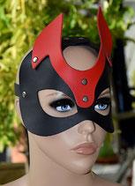 Gesichtsmaske Maske Teufelsmaske RED DEVIL