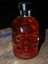 Moselpirat Bloody Peach - Roter Weinbergspfirsichlikör mit Glitzereffekt