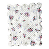 Quilted Placemate Nicoline white