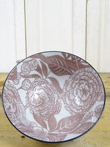 Schaaltje porselein oud roze 16x7cm