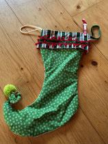 Santa Stiefel grün