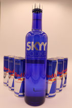 SKYY VODKA + RED BULL SET
