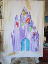 Titel:  Atlantis - Das Tor deiner Erleuchtung (ein Original) 100 x 70 cm