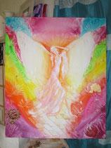 Titel: Engel-Göttin - es ist schön bei dir   (ein Original)