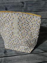 Lunchbag gross - Regenbogen/Altrosa-Gelb