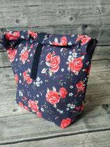 Lunchbag gross - Rose/Rot