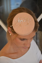 Headpiece mit glitzernden Perlen & Steinen