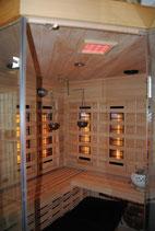 Licht Sauna einfach