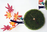 Gras-Uhr_ Quarzuhrwerk in Metall-CD-Dose