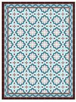 Deco & Carpet Tappeto Cementine Celeste | sconto 10%
