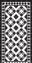 Deco & Carpet Tappeto Neoclassical Nero | sconto 10%
