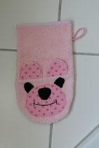 Waschhandschuh Rosa