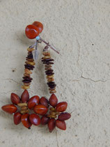 Brazilian Seed Earrings - No. 5
