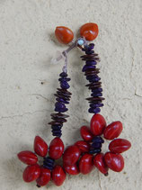 Brazillian Seed Earrings - No. 7