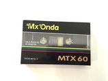 Cinta cassette virgen 60min. metal MXONDA
