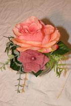 Blüte im Glas (Seide)
