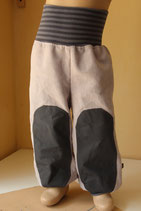 Leinenhose Outdoor stone wash hellgrau/ grau