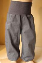Pumphose Jeans silbergrau/ grau