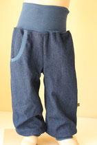 Pumphose Jeans dunkelblau
