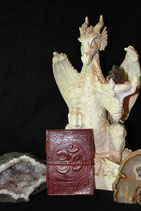 Leather Book with OM