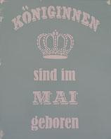 "Schablonenbild - ""Königinnen...."""