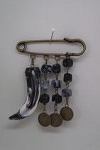 Kilt speld brons