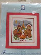 Borduur     pakket indianen