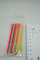 Plastic naalden 9 cm- 10 stuks