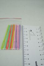 Plastic naalden 7 cm- 10 stuks