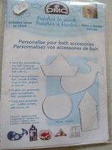 Losse stramientjes voor de badkamer