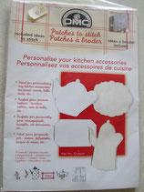 Losse stramientjes voor in de keuken