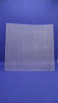 Plastic borduur stramien vierkant