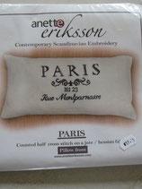 Borduur pakket kussen Paris crème Aida
