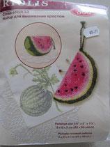 Borduur pakket spelden kussen Meloen