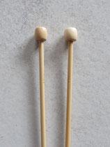 Bamboe breinaalden 35cm