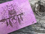 Karten, Zentangle, Stempel, Leinwand Bild und Krippe oder Tierkopf einfach gefaltet...