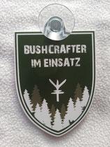 Saugnapfschild - Bushcrafter im Einsatz -