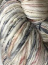 Manos del Uruguay Serpentina, Farbe Marie (mit blassem Rostrot und Grau)